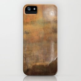 Solitary Consolation iPhone Case