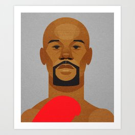 Money Mayweather Art Print