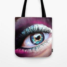 Eye love glitter Tote Bag