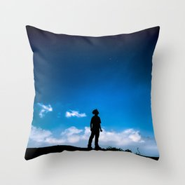 stand still, stay strong Throw Pillow