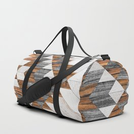 Urban Tribal Pattern No.12 - Aztec - Wood Duffle Bag