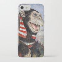 monty python iPhone & iPod Cases featuring Monty by hazael anaya