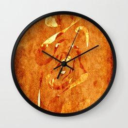 Curvature 2 Wall Clock