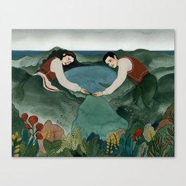 Lagoa das Sete Cidades Canvas Print