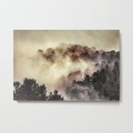 """Surprise misty forest"" Metal Print"