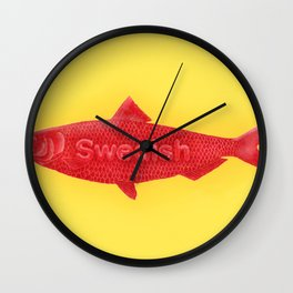 Swedish Fish Wall Clock