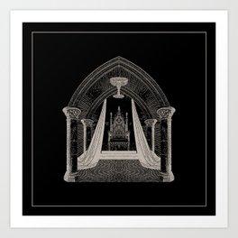 Throne Room Art Print