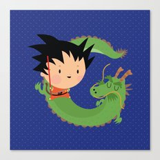G is for goku Canvas Print