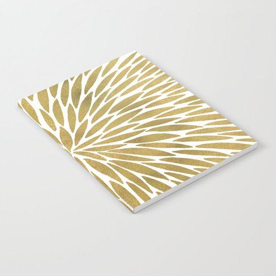 Golden Burst Notebook