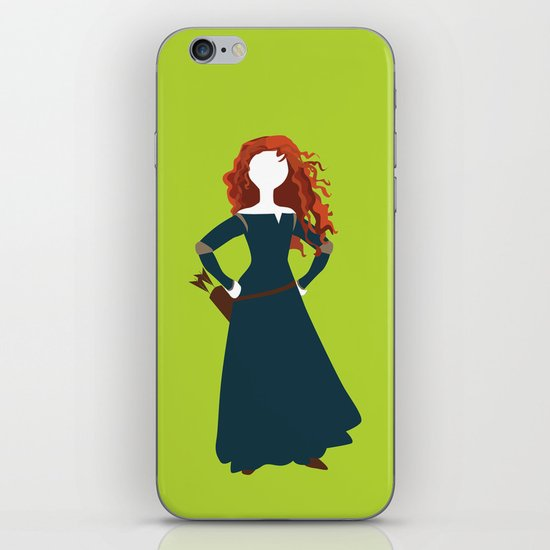 Merida from the Brave iPhone & iPod Skin