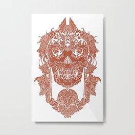 javanese Metal Print