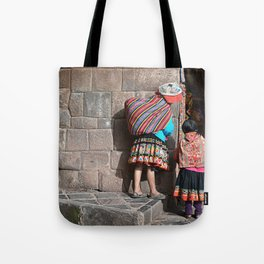 Peruvians - Cusco Tote Bag