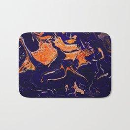 Abstract paint Art Bath Mat