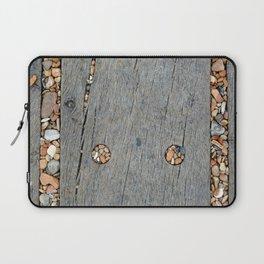 Beach Pebble Abstract Laptop Sleeve