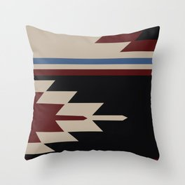 American Native Pattern No. 152 Throw Pillow