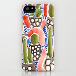 Cocktail Bling Plants iPhone Case