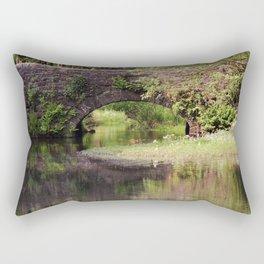 Bridge over Bentley Brook Rectangular Pillow