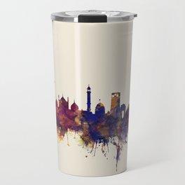 New Delhi India Skyline Travel Mug