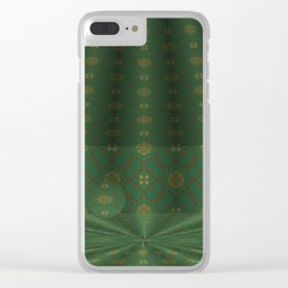 Soothing Orbital Voids 1 Clear iPhone Case