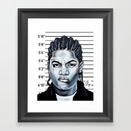 O.G. Cleo Framed Art Print