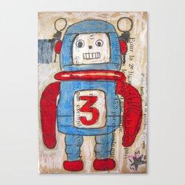 ROBOT 1 Canvas Print