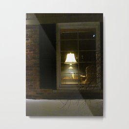 Let Me Go To The Window Metal Print