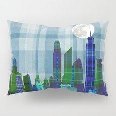Plaid City Twilight Pillow Sham