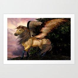 The Realm of the Pegasus Art Print