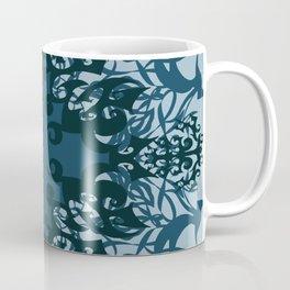 Moody blues - Mosaic Coffee Mug