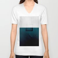 abyss V-neck T-shirts featuring Abyss by SUBLIMENATION