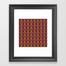tribal pattern 3 Framed Art Print