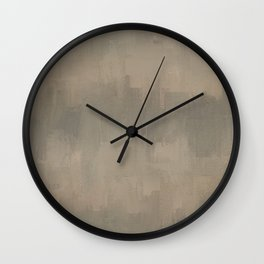 Reclaimed 2 Abstract Expressions Wall Clock