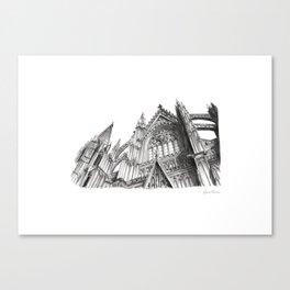 Duomo di Colonia Canvas Print