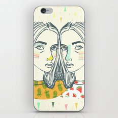 Last Sunset Twins iPhone & iPod Skin