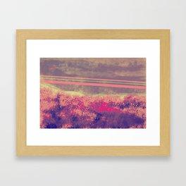 """Freeway"" Digital Painting // Fine Art Print Framed Art Print"