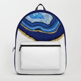 Blue Dripping Agate Backpack