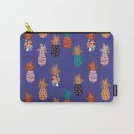 Funky Pineapple Pattern 4.0 Carry-All Pouch