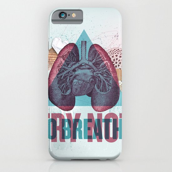 TRY NOT TO BREATHE iPhone & iPod Case