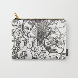 Bison Yogini ~ Fertility Carry-All Pouch