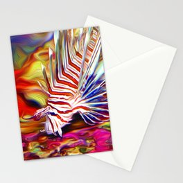 Lionfish in the Daytime Stationery Cards
