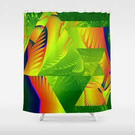 Great Green Frac 2 Shower Curtain