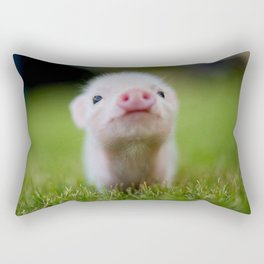 Little Pig Rectangular Pillow