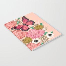 Monarch Florals by Andrea Lauren  Notebook