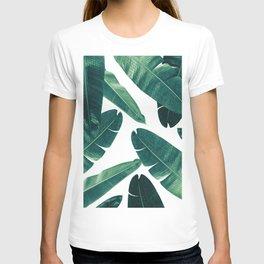 Banana Leaves - Cali Vibes #2 #tropical #decor #art #society6 T-shirt