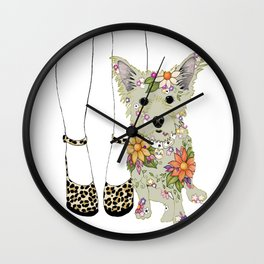 Milly and Me Wall Clock