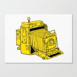 Folding Plate Camera Canvas Print