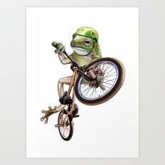 FROG BMX Art Print