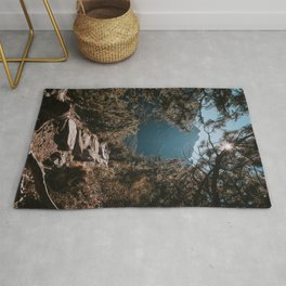 On the trail - Landscape and Nature Photography Rug