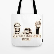 Coffee empowerment  Tote Bag