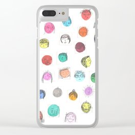 i like your face Clear iPhone Case